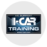 We Support I-CAR Training Logo
