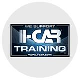 We Support I-CAR Training Logo