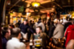 Crowded Irish Pub