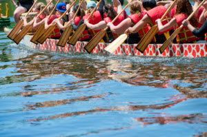 Dragon boat competitions