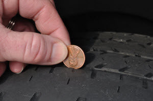 penny test tires