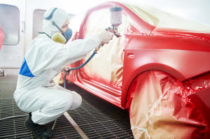 Auto Body Painting Detailing Work