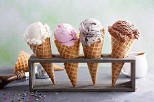 Variety of Ice Cream Flavors Warminster