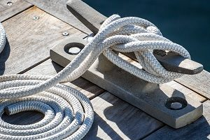 Cleat Hitch Boat Knot